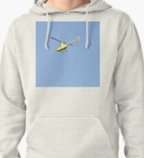 Yellow R44 Helicopter Pullover Hoodie