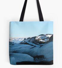 Up the Glacier Tote Bag