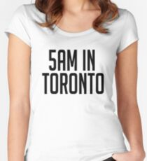 5AM In Toronto Women's Fitted Scoop T-Shirt