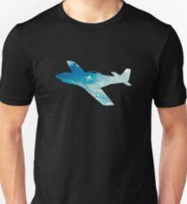 P-51 Mustang Skyview Unisex T-Shirt
