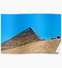 Cheops Pyramid. Poster
