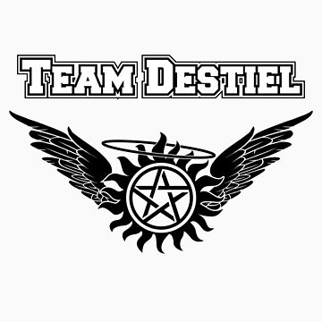Team Destiel  by HarmonyByDesign