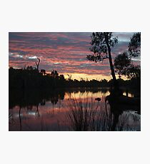 SummerSunSet Photographic Print