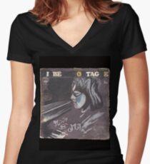 MWE MAN Women's Fitted V-Neck T-Shirt