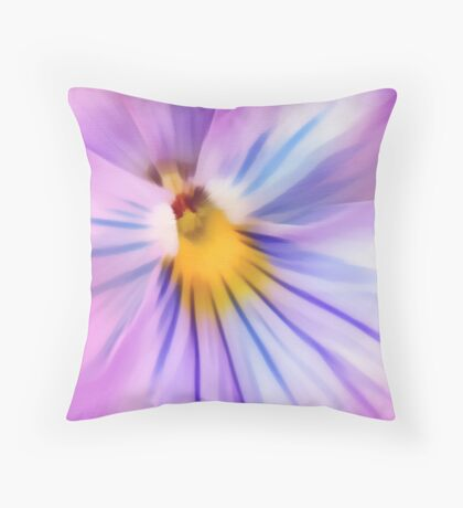 Party Time Pansy Throw Pillow