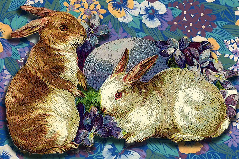 SPRING BUNNIES by Tammera