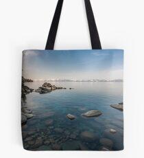 Clear Morning - Lake Tahoe Tote Bag