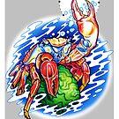 Sally Lightfoot Crab by Paula Stirland