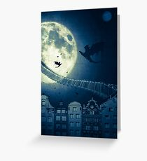 The way to the dragon's nest! Greeting Card