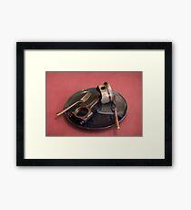 piston-eater Framed Print