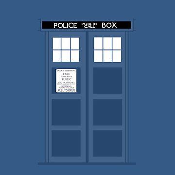 TARDIS by qfabb