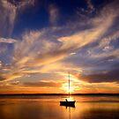 Autumn Sunset (9-3-13) by Julie  White