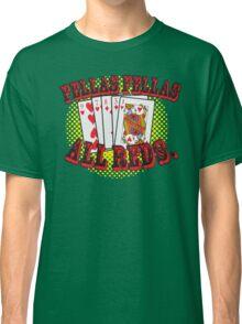 Oceans' 11 all red winning hand.  Classic T-Shirt