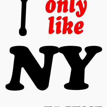 I only like New York by Swenschi