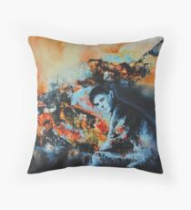 Sacrifice, featured in Painters Universe Throw Pillow
