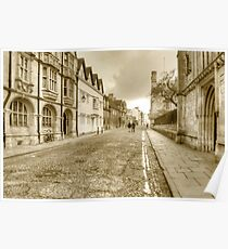 Merton Street Oxford Poster