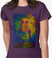 Wicca Madonna Womens Fitted T-Shirt