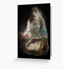 Black Madonna Greeting Card