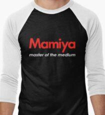 Mamiya Photography Logo Men's Baseball ¾ T-Shirt