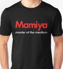 Mamiya Photography Logo Unisex T-Shirt