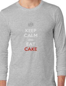 Keep Calm Eat Cake Long Sleeve T-Shirt