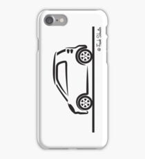 Smart 4 Two Side BLK iPhone Case/Skin