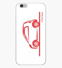 Smart 4 Two Side Red iPhone Case