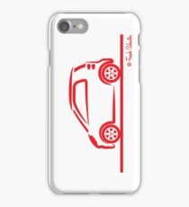 Smart 4 Two Side Red iPhone Case/Skin