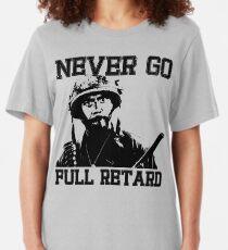 Never Go Full! Slim Fit T-Shirt