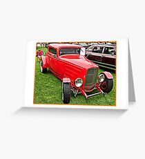 1930's Ford Coupe Greeting Card