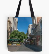 Rundle Mall - Tall buildings Tote Bag