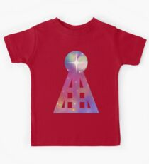 Triangular Nebula Kids Tee