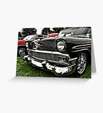 1956 Chevy Belair Greeting Card