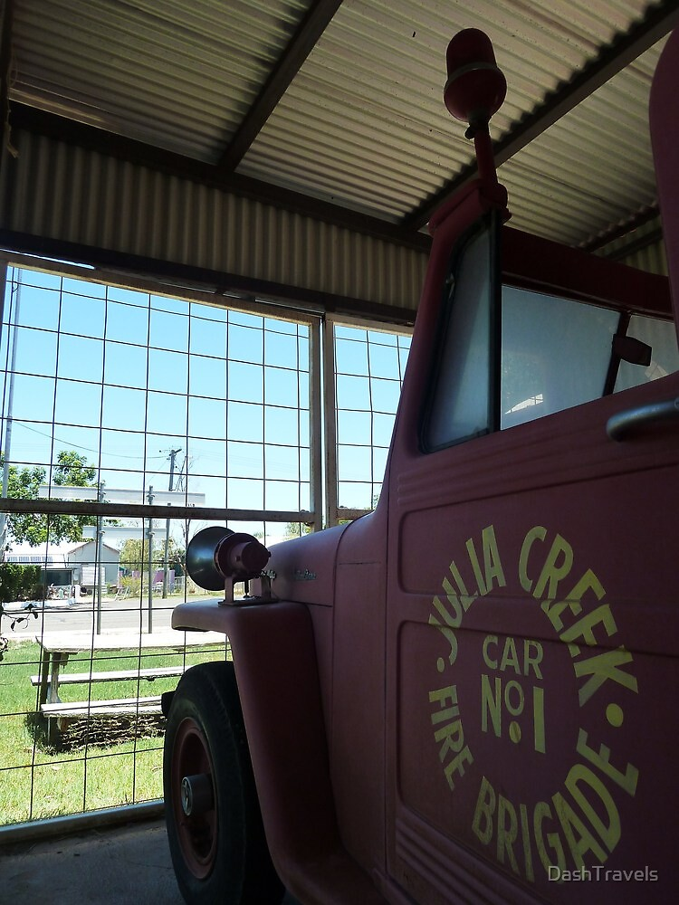 Car Number One - Julia Creek Fire Brigade by DashTravels