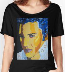 Pop Art Elvis Women's Relaxed Fit T-Shirt