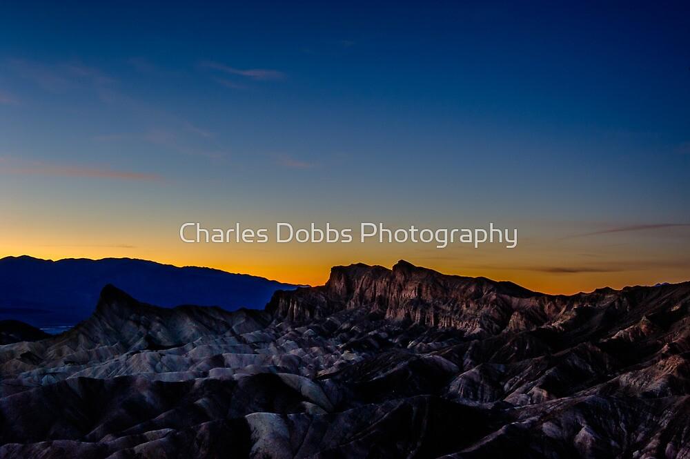 Zabriskie Sunset by Charles Dobbs Photography