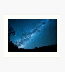 Maroon Dam Milky Way Art Print