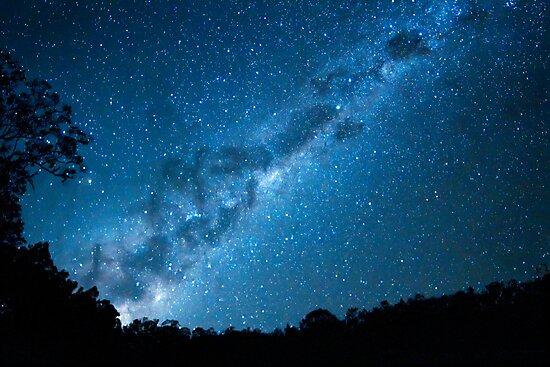 Maroon Dam Milky Way by kmatm