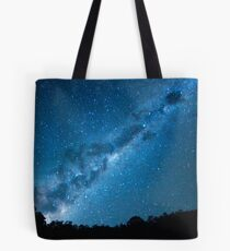 Maroon Dam Milky Way Tote Bag