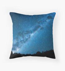 Maroon Dam Milky Way Throw Pillow