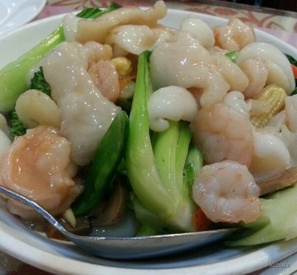 Seafood and Vegetables by kchase