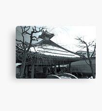onsen Canvas Print