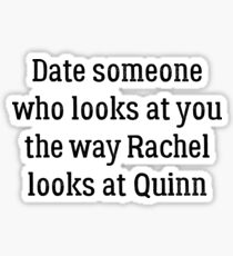 Date Someone Who - Faberry Sticker
