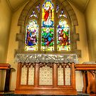 Church Window Rural NSW by Kym Bradley