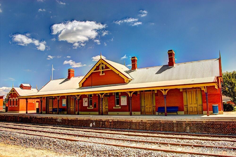 Bungendore Railway Station  NSW Australia  by Kym Bradley