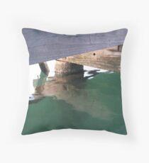 Bicton jetty Throw Pillow