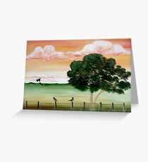 'Early Mornings' Greeting Card