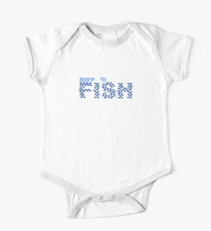 Born to Fish VRS2 Kids Clothes