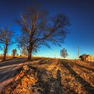 Along Hayfield Road March 2013 by Aaron Campbell