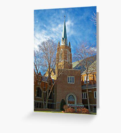 First Lutheran Church Greeting Card